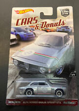 Hot Wheels 2018 Cars And Donuts Alfa Romeo Guilia Sprint GTA Race Car HTF New B8