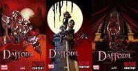 Daffodil #1-3 (2010) Marvel Comics - 3 Comics