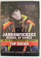 Jabbawockeez School Of Dance Lesson 1: Coordination & Balance -Top Rocks DVD NEW