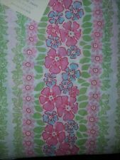 NEW Pottery Barn Kids Pink HIBISCUS Twin DUVET & SHAM  summer floral