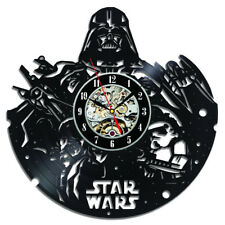 STAR WARS CD Vinyl Record Wall Clock Cool Design Wall Watch Home Decor Classic