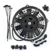 """ACP 8"""" Universal Push Radiator Cooling Fan Straight Blades Replacement Unit"""