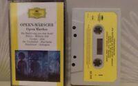 deutsche grammophon opern.marches cassette tape