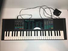 Vintage Yamaha PSS-270 PortaSound Voice Bank Stereo Electronic Keyboard TESTED