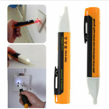 2XLED LIGHT AC ELECTRIC VOLTAGE TESTER VOLT ALERT PEN DETECTOR SENSOR 90~1000V