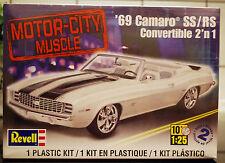 1969 Chevrolet Camaro SS/RS descapotable convertible 2´n1, 1:25, Revell-estados unidos 4929