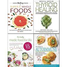 Medical Medium Thyroid Healing 4 Books Collection Set Hidden Healing BRAND NEW