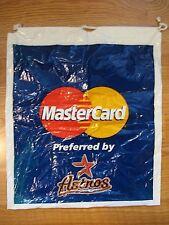 Houston Astros Mastercard Plastic Bag