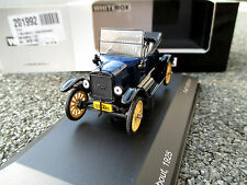 "1/43 WhiteBox WB145 Ford T-Modell ""Runabout"" 1925 blau limitiert + OVP !"