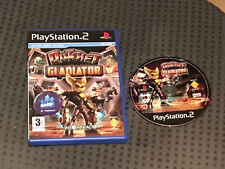 Ratchet Gladiator Play Station 2 PS2 PAL