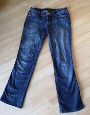 Ladies ZARA Denim Jeans Size UK 10 31 L Boot Cut