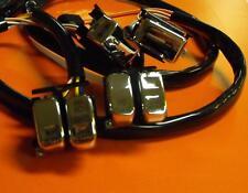 Handlebar Switch Wiring Kit Chrome Standard for Harley Davidson Models 1996-2006