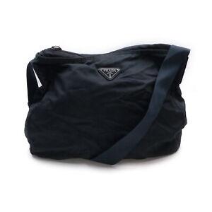 Prada Shoulder Bag  Navy Blue Nylon 1425801