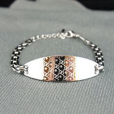 18k white Gold plated with Swarovski crystals elegant bangle bracelet
