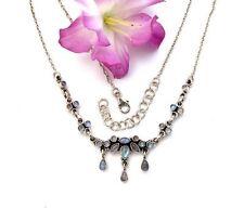 Markenlose Halsketten und Anhänger aus Edelsteinen mit Mondstein für Damen