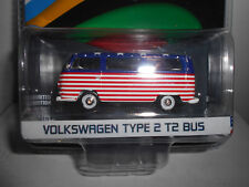 Volkswagen T2 Type 2 bus usa Olympic Rio 2016 Greenlight 1 64