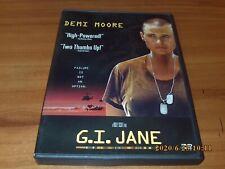 G.I. Jane (DVD, Widescreen 1998) GI
