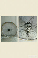 "ruota posteriore  corsa vintage eroica  rear wheel   gnutti racing  atom 28"""