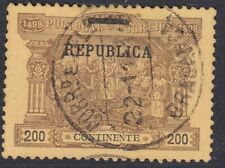 Portuguese Used Postage Due Stamps