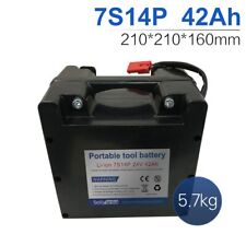 24V 42Ah 7S14P Li-ion battery electric wheelchairs Replaceable lead-acid