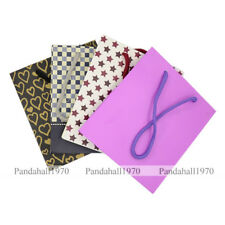 Rectangle Mixed Styles Paper Pouches Gift Shopping Bags Mixed Color 150x133mm
