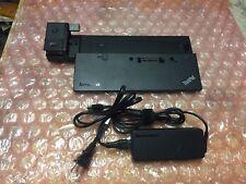 New listing Ibm Lenovo ThinkPad Pro Dock Type 40A1 Docking Station w/ power supply