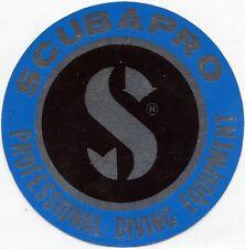 ADESIVO VINTAGE ( ANNO 1984 )/STICKER * SCUBAPRO * PROFESSIONAL DIVING EQUIPMENT