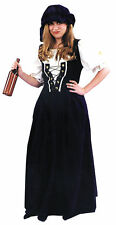 Renaissance Skirt And Hat Set Adult Costume Women's Halloween Fancy Dress