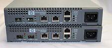 PAIR OF HP 466265-001/ Eva4400 / AJ714-63001 Bi-Dir Iscsi Conn Opt Upgrade Kits
