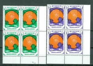 Bangladesh Copernicus UN Scout  3 diff Set in Block of 4 MNH Lot#8246 47 48