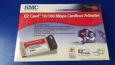 NEW SMC Networks EZ Card 10/100 Mbps Cardbus Adapter PCMCIA SMC8036TX