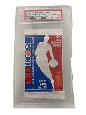 1989 Hoops Basketball Pack PSA 10! Michael Jordan Showing On Top / MINT. POP 7!