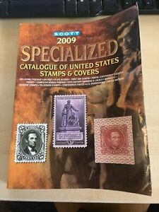 2009 Scott Used specialized Catalogue United states stamps & covers