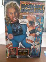 DIAMOND DALLAS PAGE TALKING BASHIN BRAWLER WITH BOX WCW NWO TOY BIZ 1998 NEW