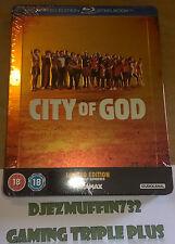 CITY OF GOD BLU-RAY STEELBOOK (REGION B) LIMITED EDITION