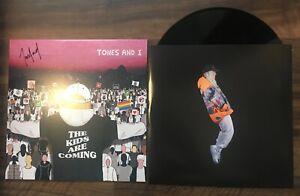 TONES AND I AUTOGRAPHED NEW VINYL RECORD