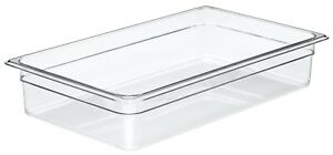 Camwear Food Pan, full size, Polycarbonate Clear Plastic, NSF, Cambro model 16CW