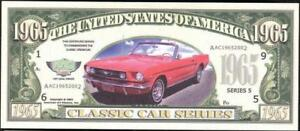 1965 Fantasy Note 🚗 1965 FORD MUSTANG 🚗🚘 Classic Car Series - Buy More SAVE