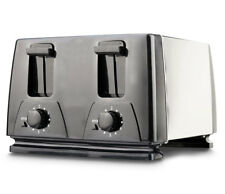 BRAND NEW Brentwood TS-284 4-Slice Toaster, Black