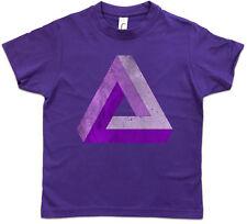 PENROSE LOGO SIGN V Kids Boys T-Shirt Big Triangle Bang TBBT Theory Geek Nerd