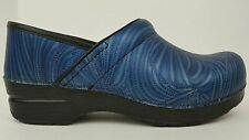 *Right Shoe Only* Dansko Womens Size 8.5 , EU 39 Groove Blue Leather Clog Loafer