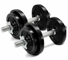 Yes4All 30lb each Dumbbells 60 lb's SET Like Bowflex Powerblock Weights Workout