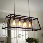 Large Chandelier Lighting Bar Glass Pendant Light Kitchen Modern Ceiling Lights