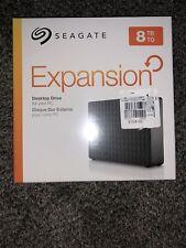 Seagate Expansion Desktop 8TB External Hard Drive HDD USB  (STEB8000100)