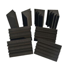 Hot Sale Acoustic Foam 8 PCS in Black Bass trap Soundproof foam ER