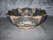 **BEAUTIFUL** Royal Doulton Highly Decorative Floral Bowl Signed N Webster