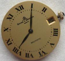 Baume Mercier Baumatic Microrotor mens wristwatch movement & dial