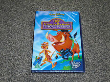 TIMON & PUMBAA : AROUND THE WORLD WITH ... DISNEY NEW & SEALED DVD (FREE UK P&P)
