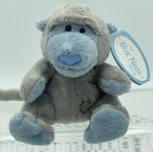 Tiny My Blue Nose Friends, Giggles, Baboon, No 50, Carte Blanche, 4', 10cm Tall
