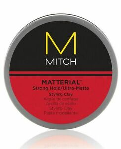 MITCH Matterial Strong Hold ultra matte styling clay 3oz